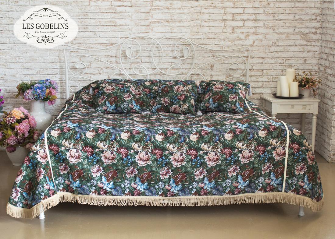 Покрывало Les Gobelins Покрывало на кровать Jardin D'Amerique (150х220 см) плед 150х220 jardin плед 150х220