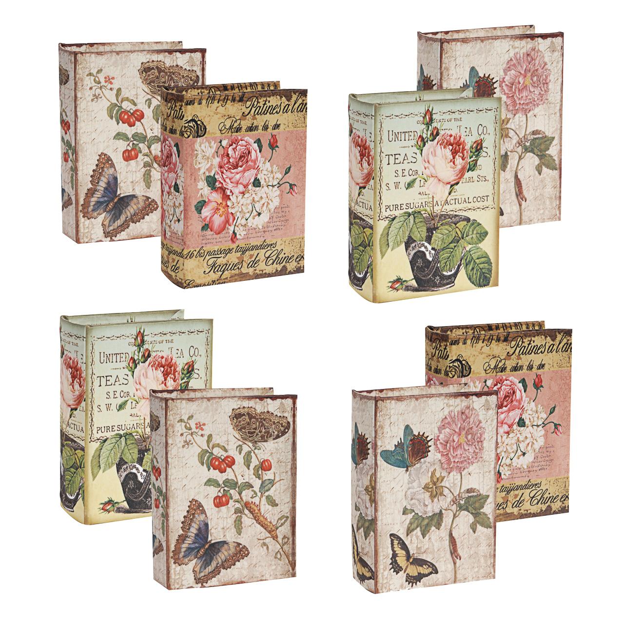 {} ARTEVALUCE Шкатулка-книга Lorrie (5х10х14 см - 8 шт) неактивный шкатулка сувенир летний сад 10 5 5 8 см