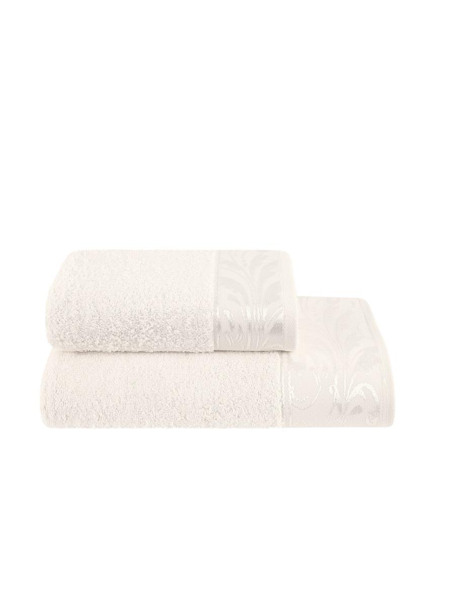Полотенца ESTIA Полотенце Эмберли Цвет: Экру (50х100 см) полотенце 100 100 см авангард