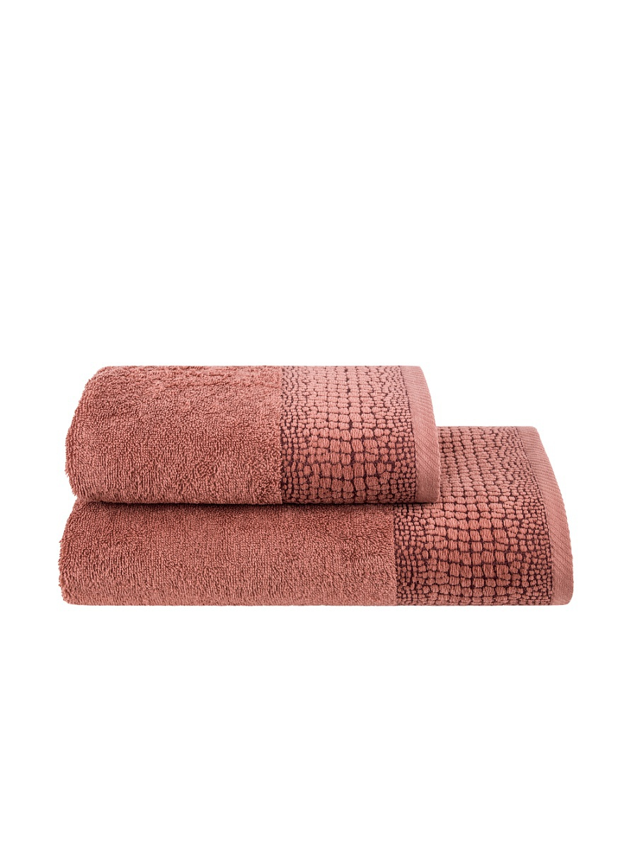 Полотенца ESTIA Полотенце Дариан Цвет: Терракотовый (50х100 см) полотенце 100 100 см авангард