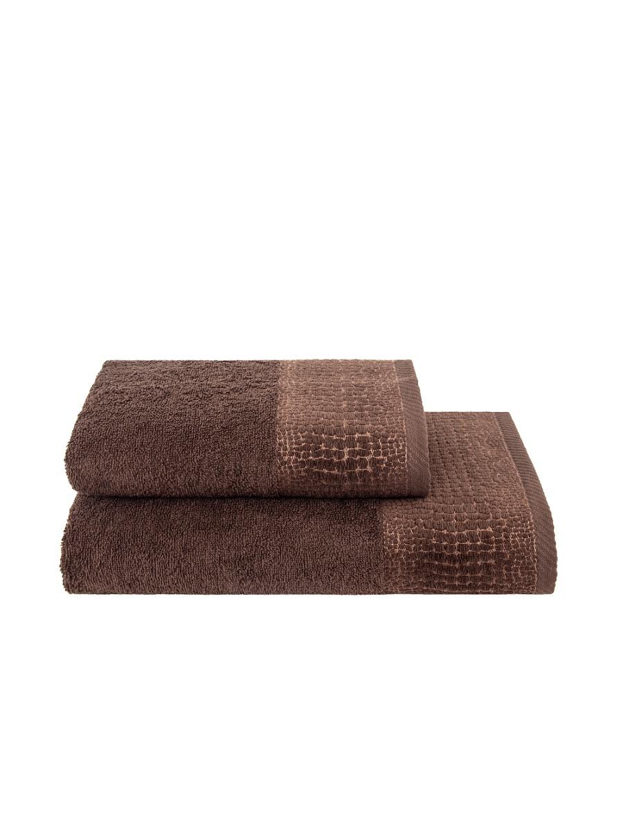 Полотенца ESTIA Полотенце Дариан Цвет: Коричневый (70х140 см) чайные пары hot contents камелия 2 пары 235 мл