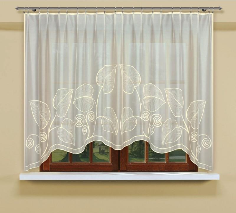 Шторы Haft Классические шторы Листья Цвет: Кремовый шторы haft японские шторы hadise цвет кремовый