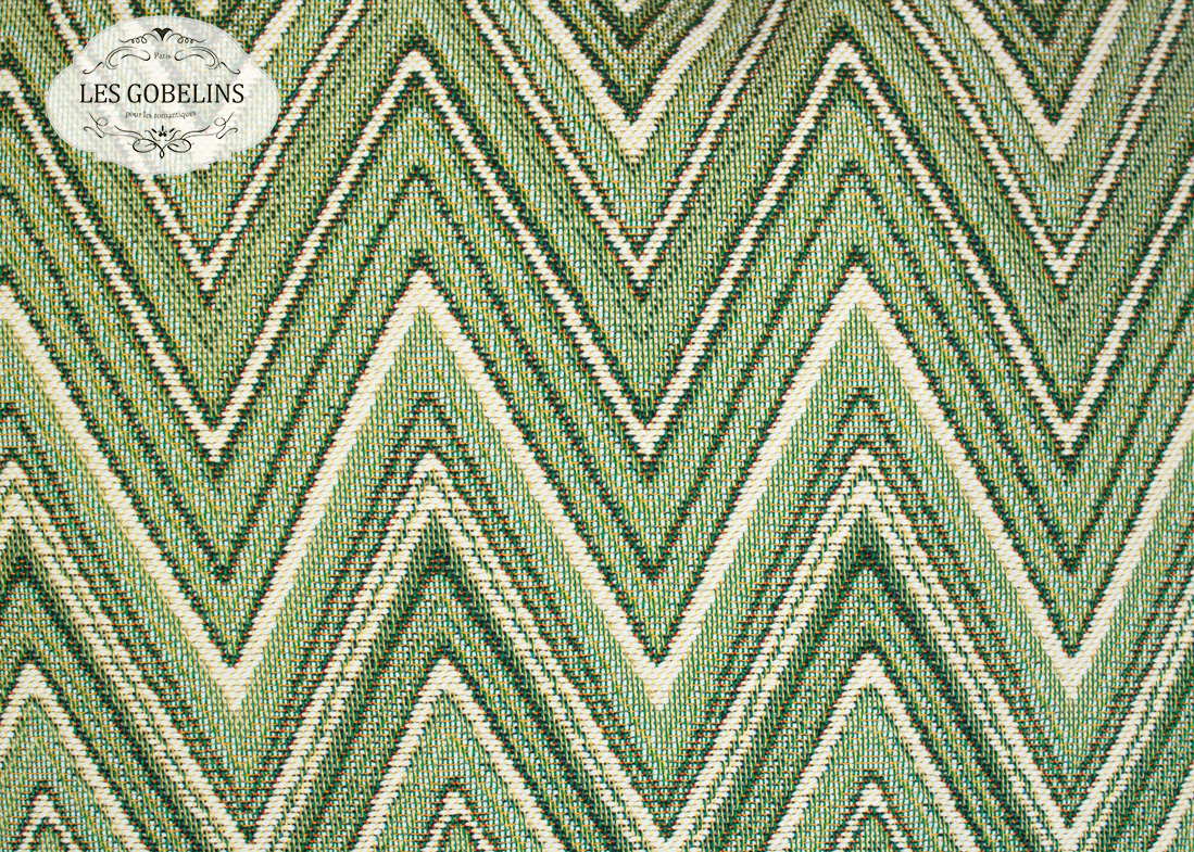 где купить Покрывало Les Gobelins Накидка на диван Zigzag (130х200 см) по лучшей цене
