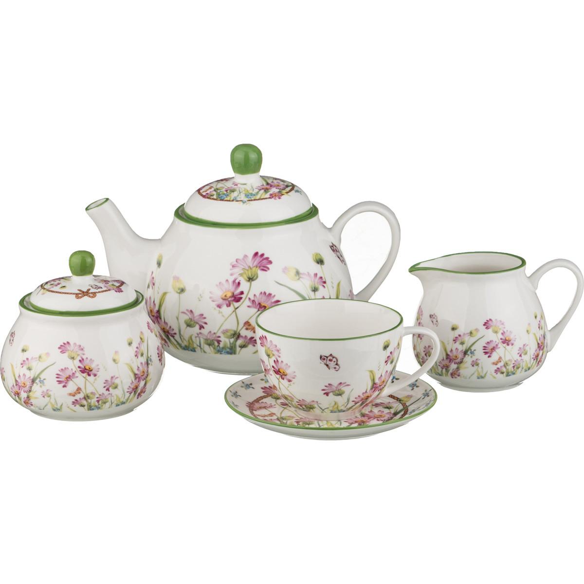 {} Lefard Сервиз Twin (Набор) creative набор для творчества украшаем чайный сервиз