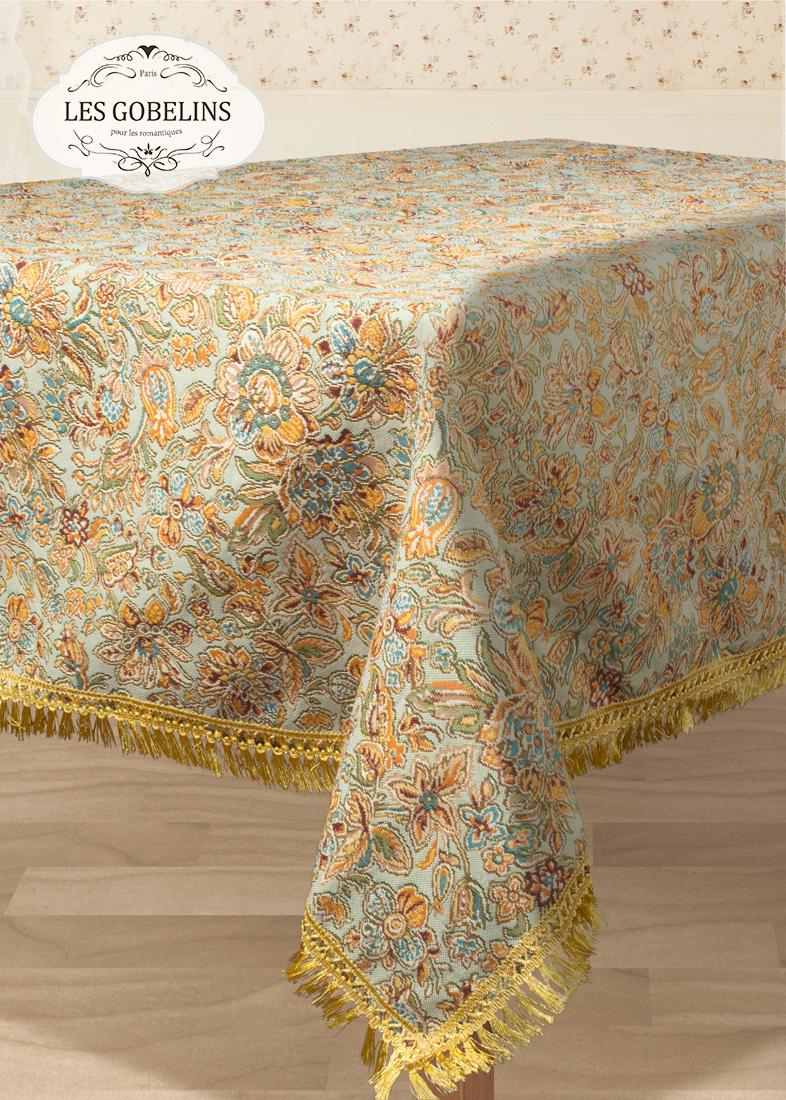 Скатерти и салфетки Les Gobelins Скатерть Vitrail De Printemps (150х300 см)