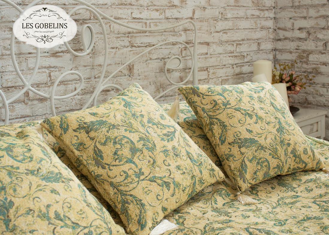 Декоративные подушки Les Gobelins Декоративная наволочка Jeune Verdure (40х40)