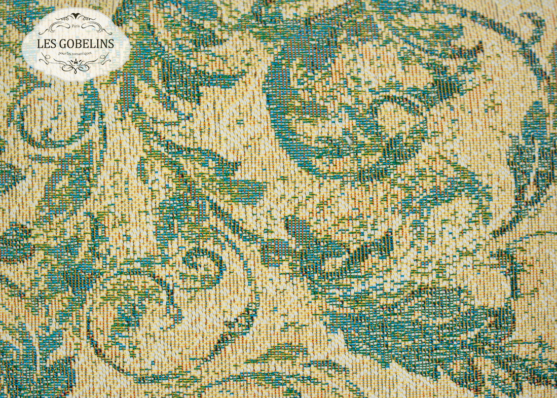 где купить Покрывало Les Gobelins Накидка на диван Jeune Verdure (130х230 см) по лучшей цене