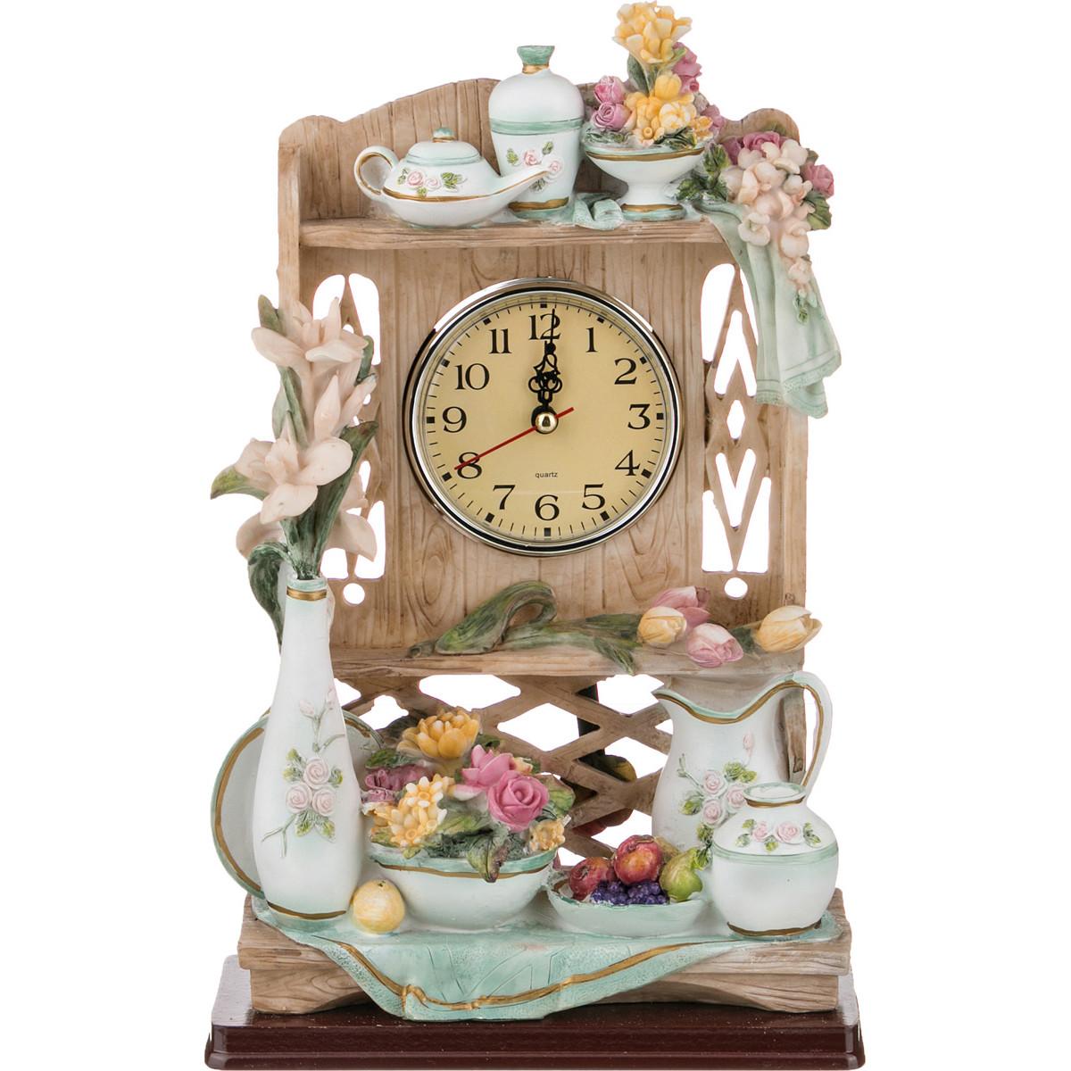 {} Lefard Часы Allie  (9х19х30 см) часы пушка настольные 9 30 11см 1140005
