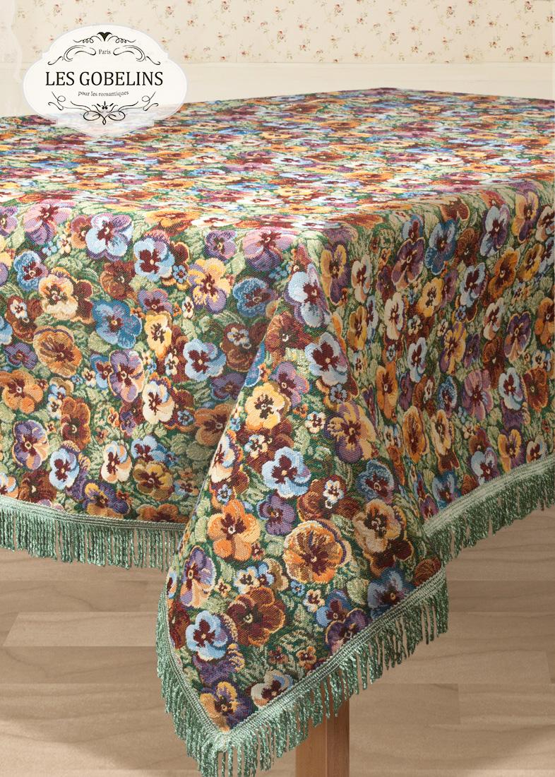 цена на Скатерти и салфетки Les Gobelins Скатерть Fleurs De Jardin (130х300 см)