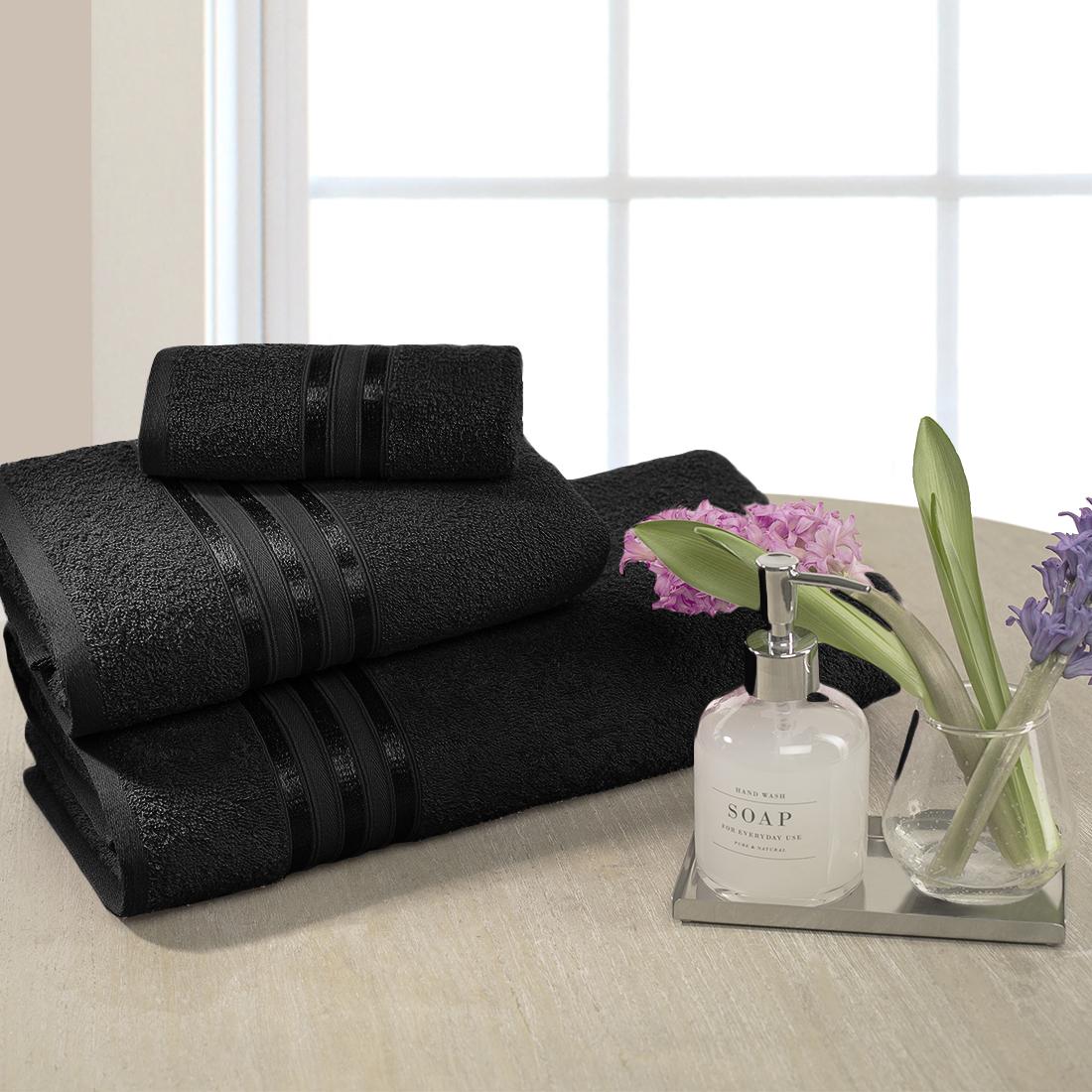 Полотенца Dome Полотенце Harmonika Цвет: Черный (70х130 см)