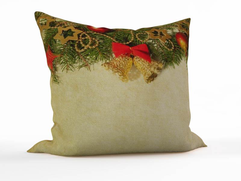 где купить Декоративные подушки StickButik Декоративная подушка Новогодний Колокольчик (45х45) по лучшей цене