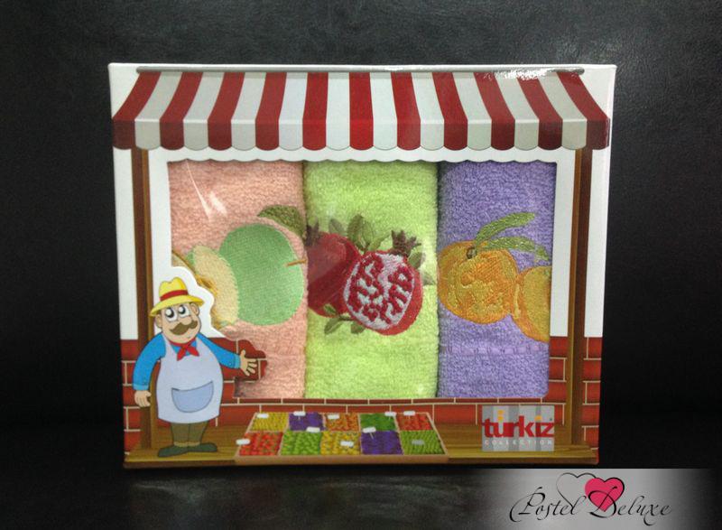 {} Turkiz Кухонное полотенце Tessa (30х50 см - 3 шт) sermina кухонное полотенце jeptha 30х50 см 3 шт