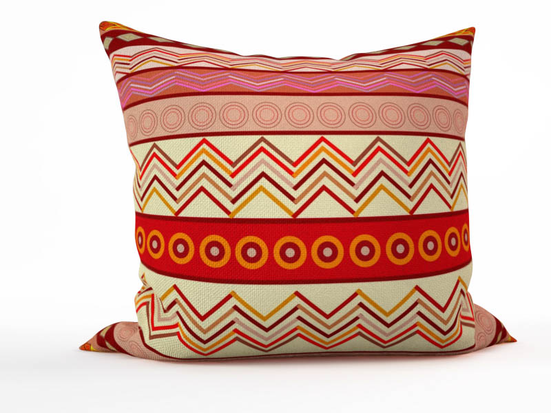 Декоративные подушки StickButik Декоративная подушка Этнические Загадки (45х45)