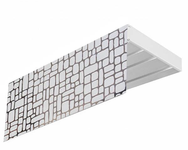 Карнизы и аксессуары для штор Эскар Карниз Мозаика (260 см) шина 260 508