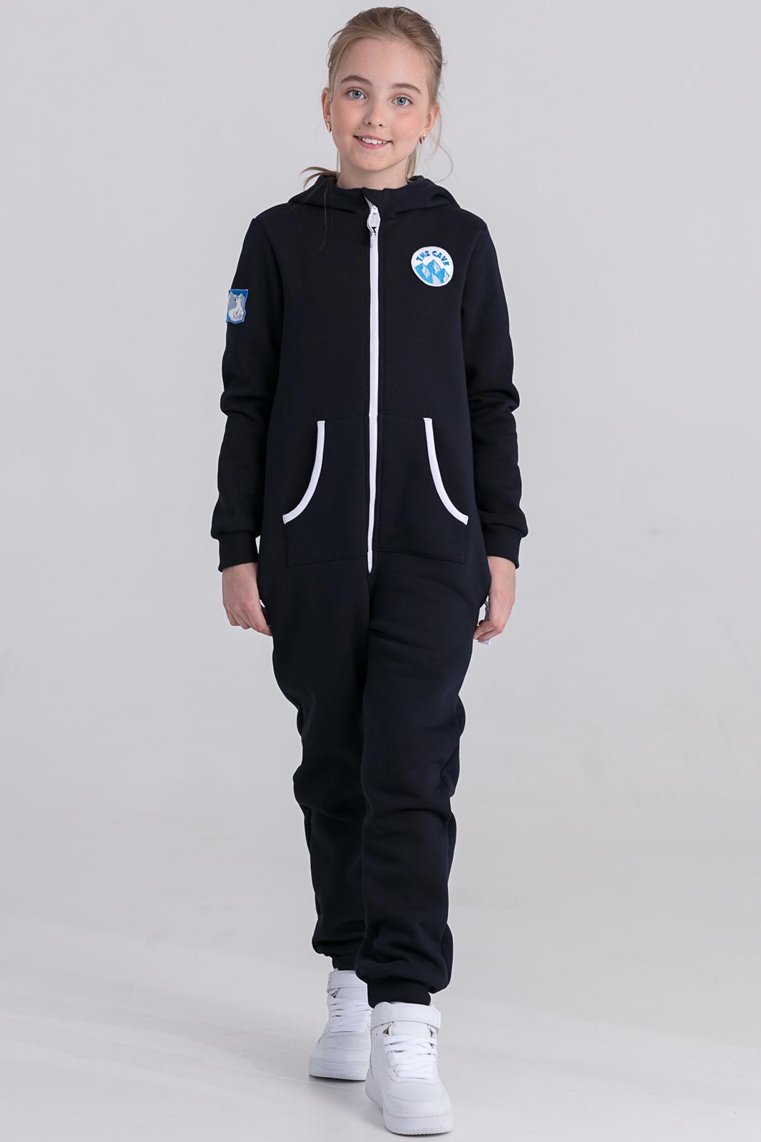 Детская домашняя одежда The Cave Детский комбинезон Veronica Цвет: Темно-Синий (6-7 лет)
