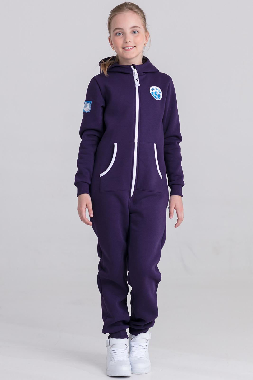 Детская домашняя одежда The Cave Детский комбинезон Veronica Цвет: Фиолетовый (8-9 лет)