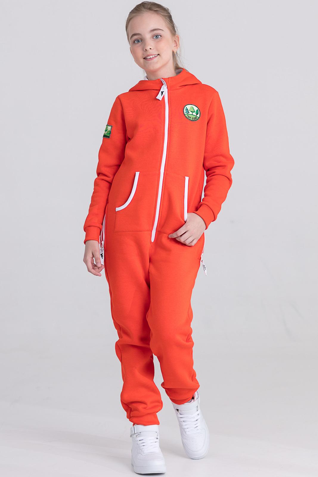 Детская домашняя одежда The Cave Детский комбинезон Veronica Цвет: Оранжевый (9-10 лет)