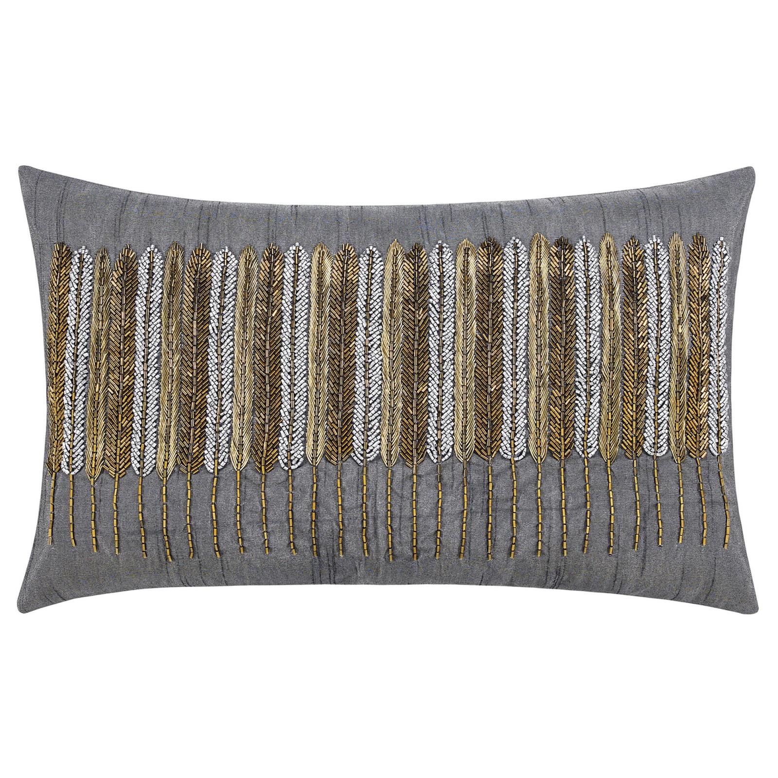 Декоративные подушки Togas Декоративная подушка Верди Цвет: Серый (30х50) вышивка бисером молящийся христос