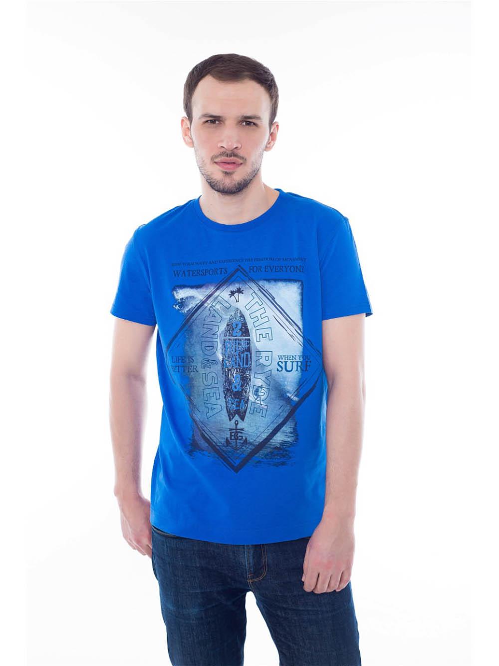 купить Футболки BeGood Футболка Water Sports Цвет: Синий (xxxxL) недорого