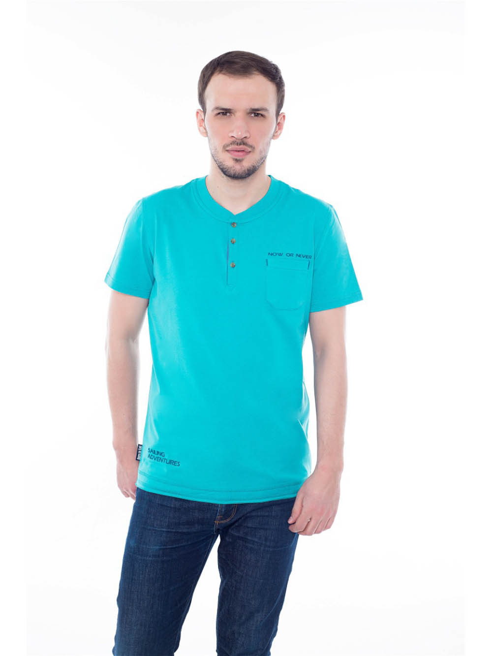 Футболки BeGood Футболка Adventures Цвет: Ментол (xL) футболки begood футболка three цвет фуксия xl