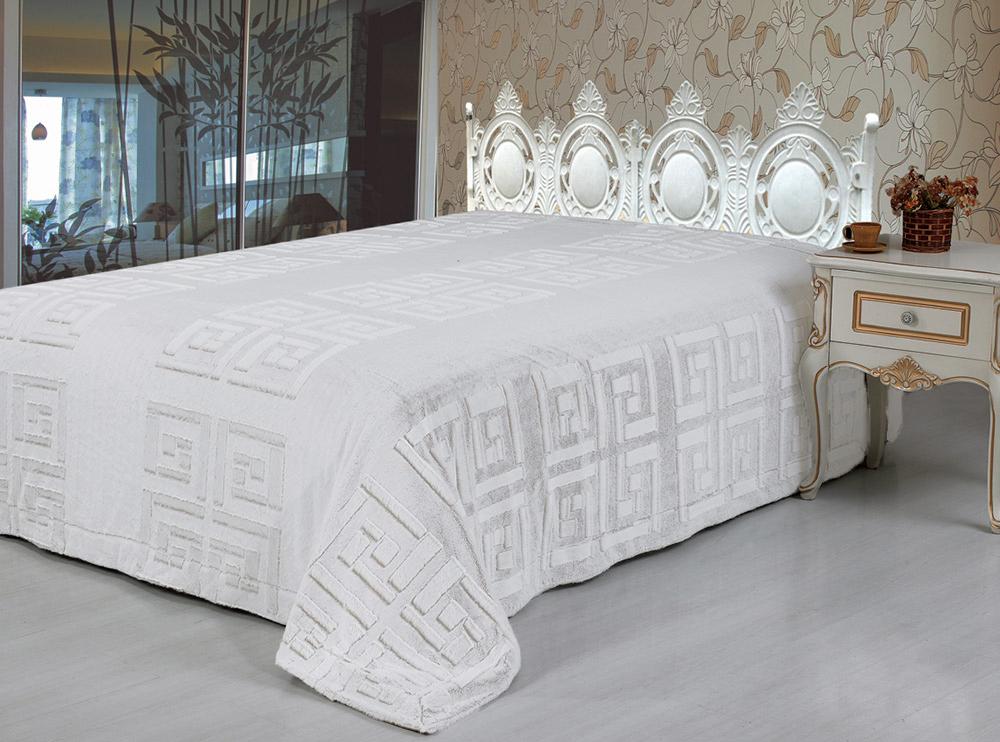 Покрывало Tango Покрывало Ellada Цвет: Белый (220х240 см) пледы tango плед микрофибра tango фланель евро 200x220