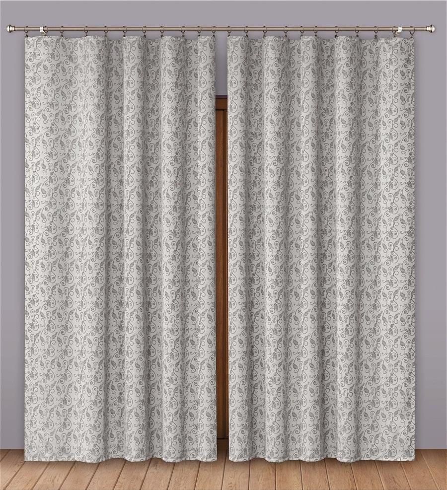 Шторы Primavera Классические шторы Ursula Цвет: Серый шторы primavera классические шторы caroline цвет сиреневый