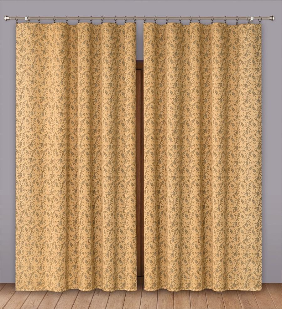 Шторы Primavera Классические шторы Ursula Цвет: Коричневый шторы primavera классические шторы maev цвет персиковый