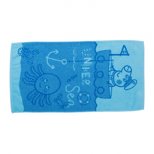 Полотенца Непоседа Детское полотенце Джордж Рыбак (30х60 см) полотенце прессованное авто 2 30х60 см 882252 href