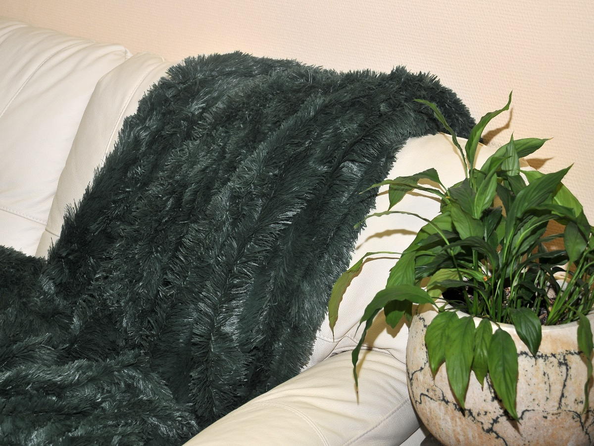 Плед Cleo Плед Конфетти Цвет: Темно-Зеленый (220х240 см) плед вязаный milk quadro 220х240 см 89 v301 2