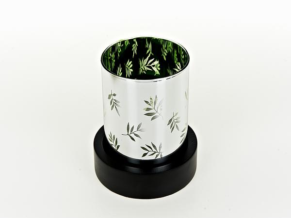 {} ArtHouse Подсвечник Зеленые Листья (10х13 см) подсвечник лось пингвин и мишка 13 см