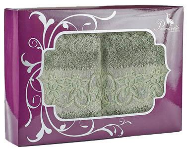 Полотенца Primavelle Полотенце Deni Цвет: Зеленый Чай (50х90 см - 2 шт ) цена и фото
