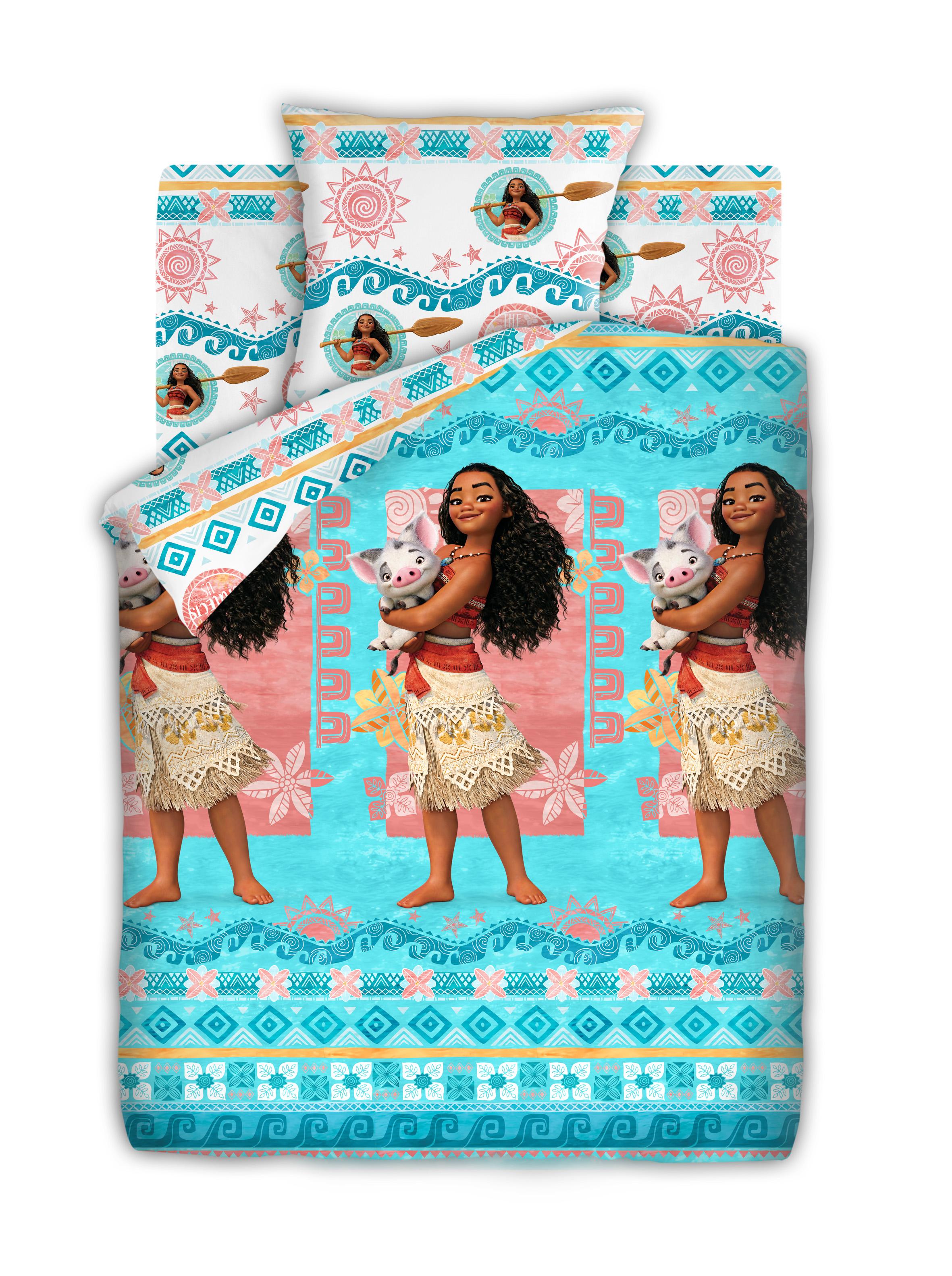 Детское Постельное белье Непоседа Детское Постельное белье Моана И Пуа (143х215 см) непоседа непоседа детское постельное белье 1 5 спальное соревнования