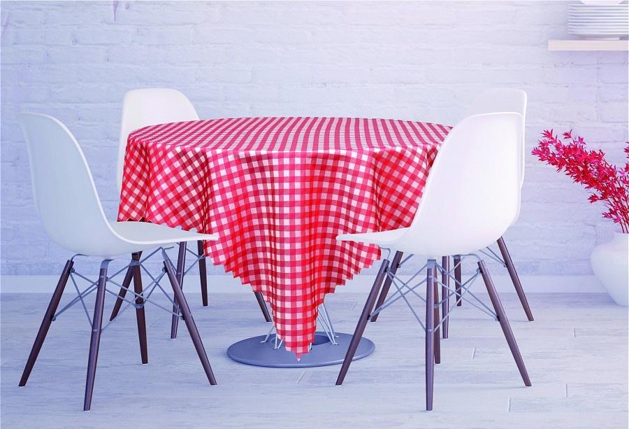 Скатерти и салфетки Haft Скатерть Kyler Цвет: Красный (130х180 см) скатерти и салфетки tango скатерть kenna 130х180 см
