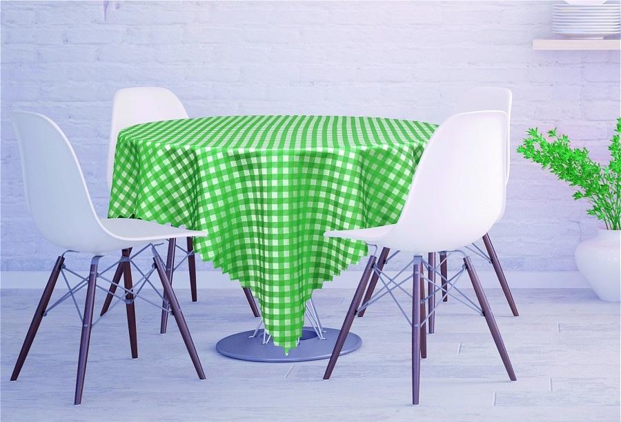 Скатерти и салфетки Haft Скатерть Kyler Цвет: Зеленый (130х180 см) скатерти и салфетки tango скатерть kaylyn 130х180 см