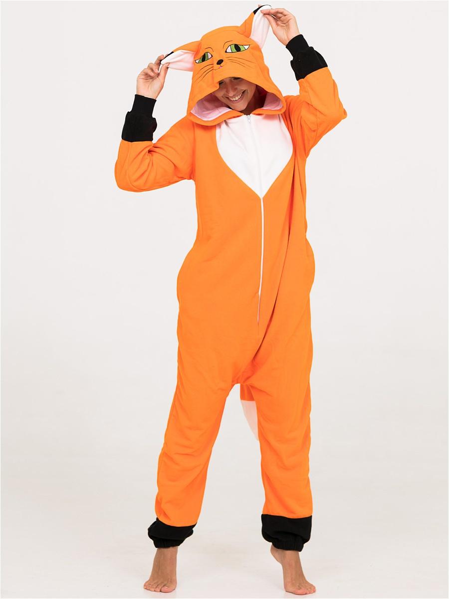 Детские пижамы Футужама Детская пижама-кигуруми Лисенок (6-8 лет)