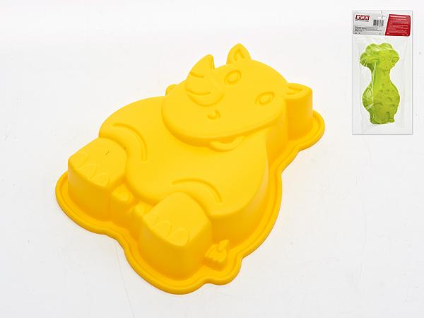 {} Best Home Kitchen Форма для выпечки Носорог (5х15х20 см) best home kitchen форма для выпечки мышка 5х20х20 см