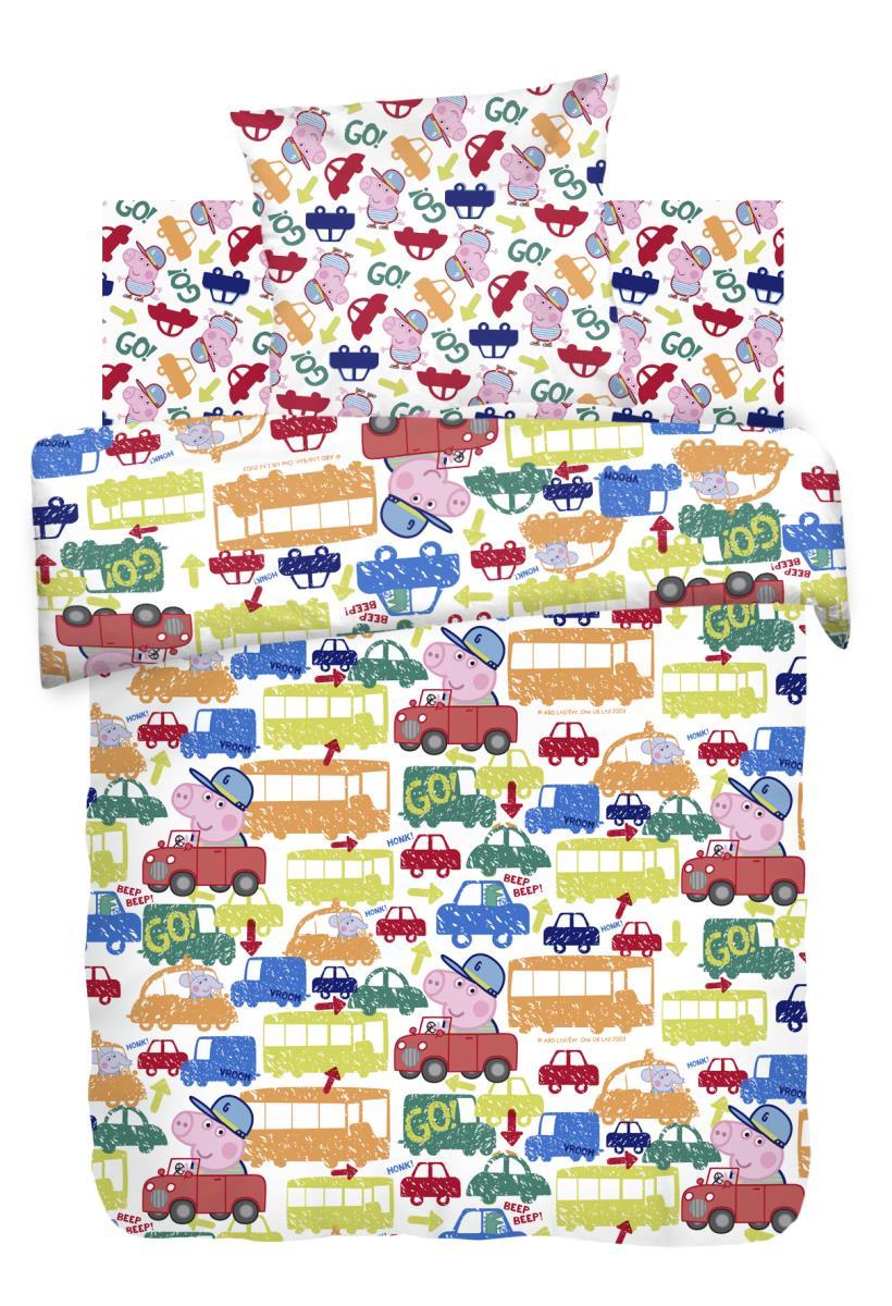 Детское Постельное белье Непоседа Детское Постельное белье Джордж за Рулем (143х215 см) непоседа непоседа детское постельное белье 1 5 спальное форсаж