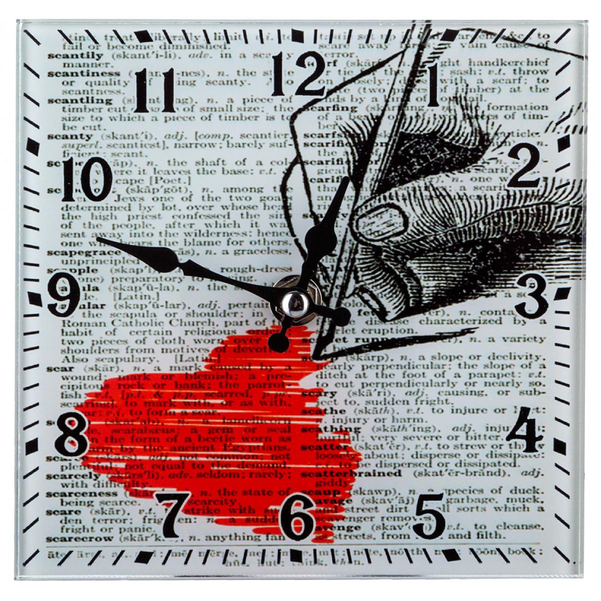 {} Lefard Часы Katerino (15х15 см) lefard сувенир mikado 15 см
