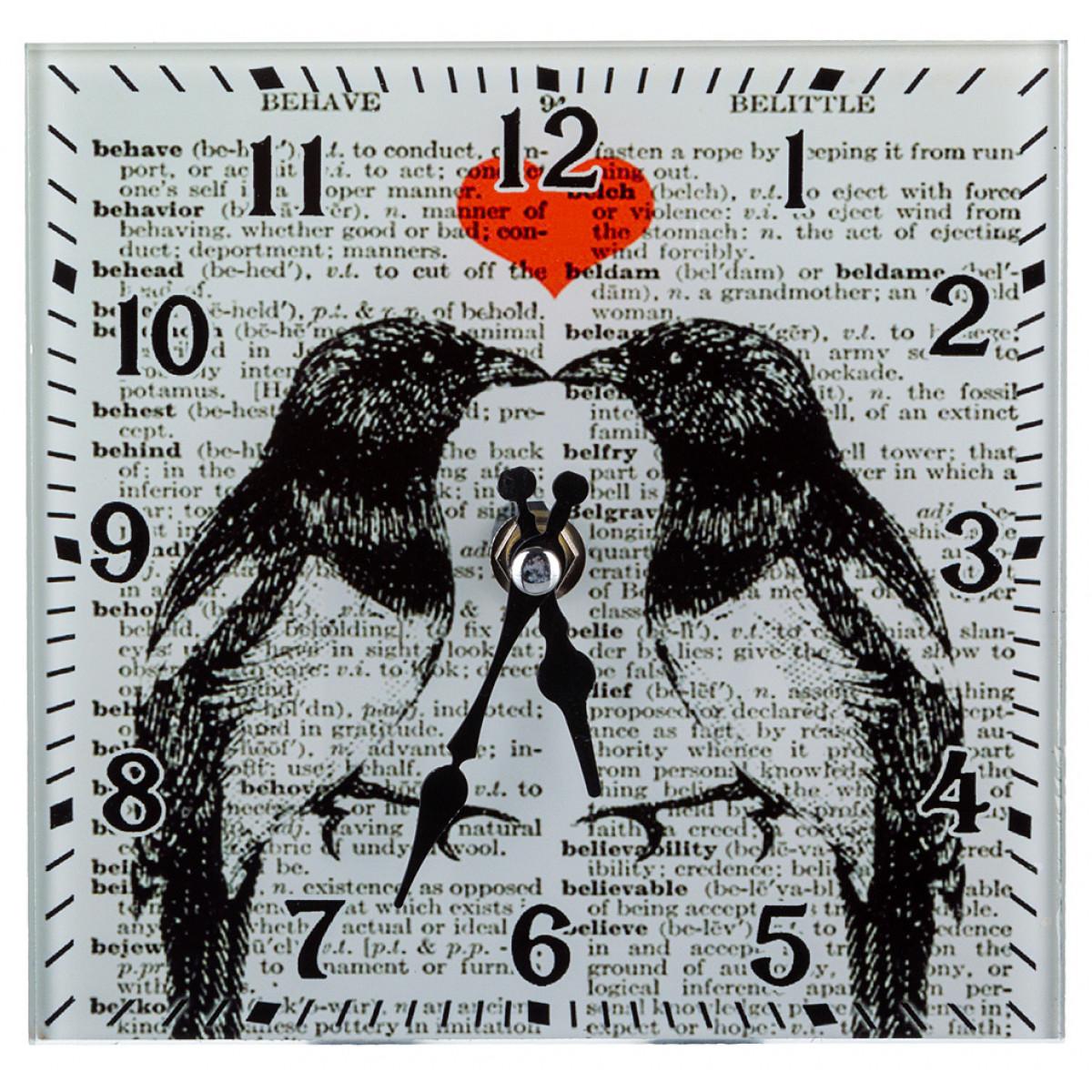 {} Lefard Часы Mary (15х15 см) держатель для книг three hands 15х15 см smooth sea 78480