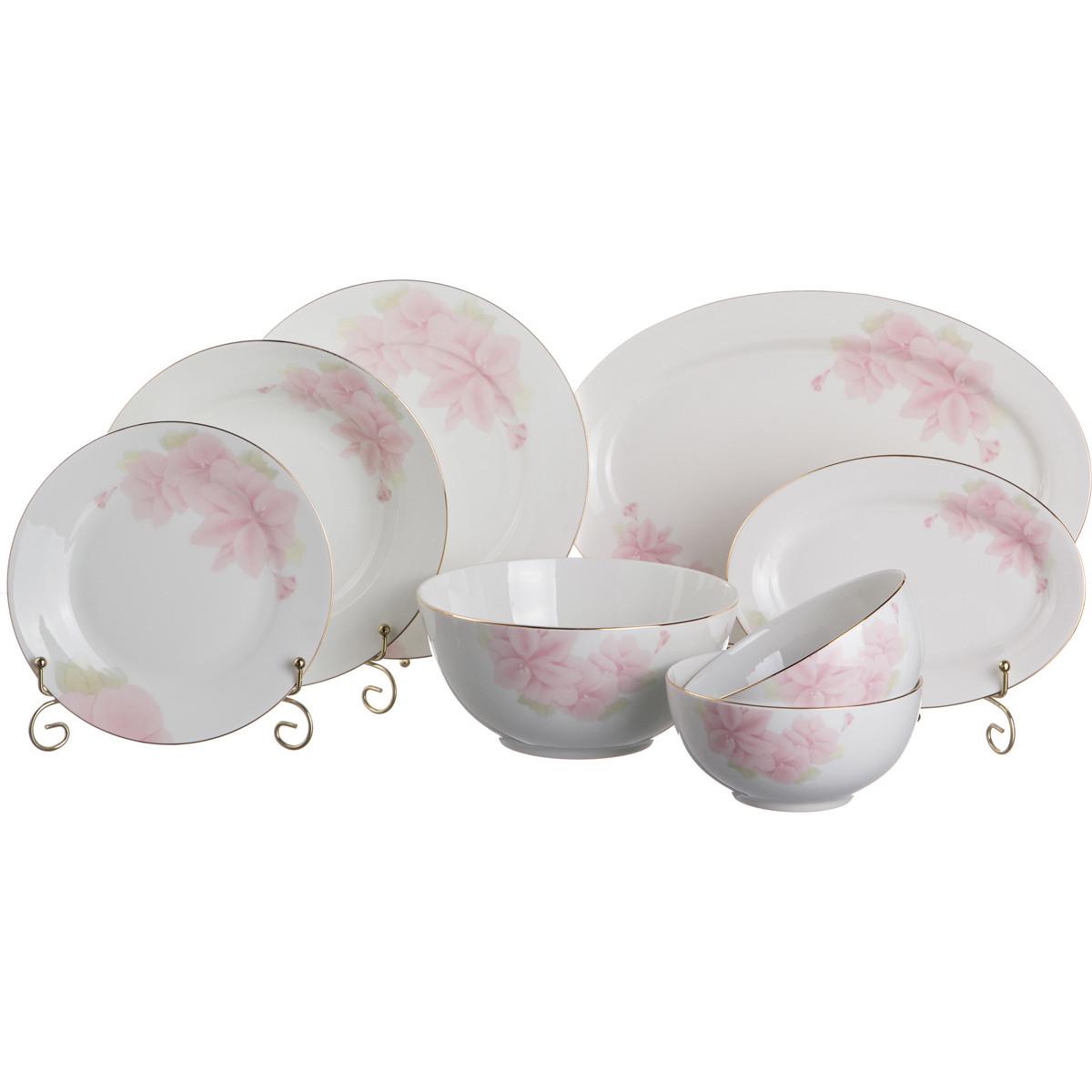 {} Japan Sakura Столовый сервиз Нежность (Набор) салатник набор 6шт 600 мл ens салатник набор 6шт 600 мл