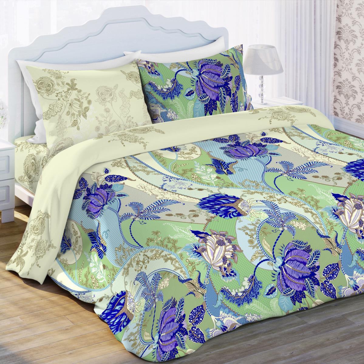 Постельное белье Любимый дом Постельное белье Грация (2 спал.) цена