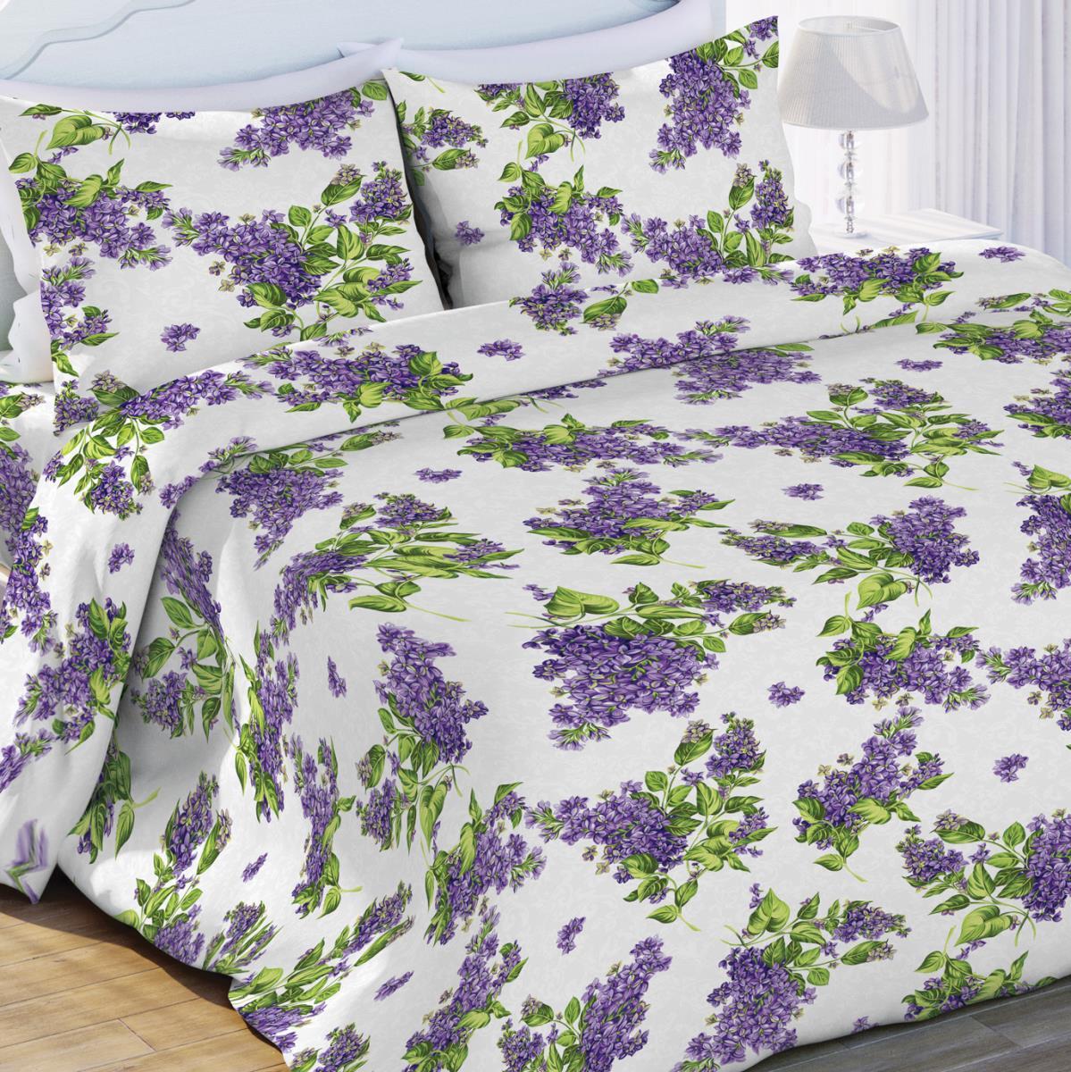 Постельное белье Флоранс Постельное белье Сирень (2 сп. евро) постельное белье иматекс постельное белье евро