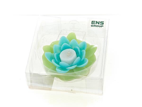 {} ENS GROUP Декоративная свеча Devereux (6х12 см) салатник с крышкой ens group танго магнолия 1 6 л