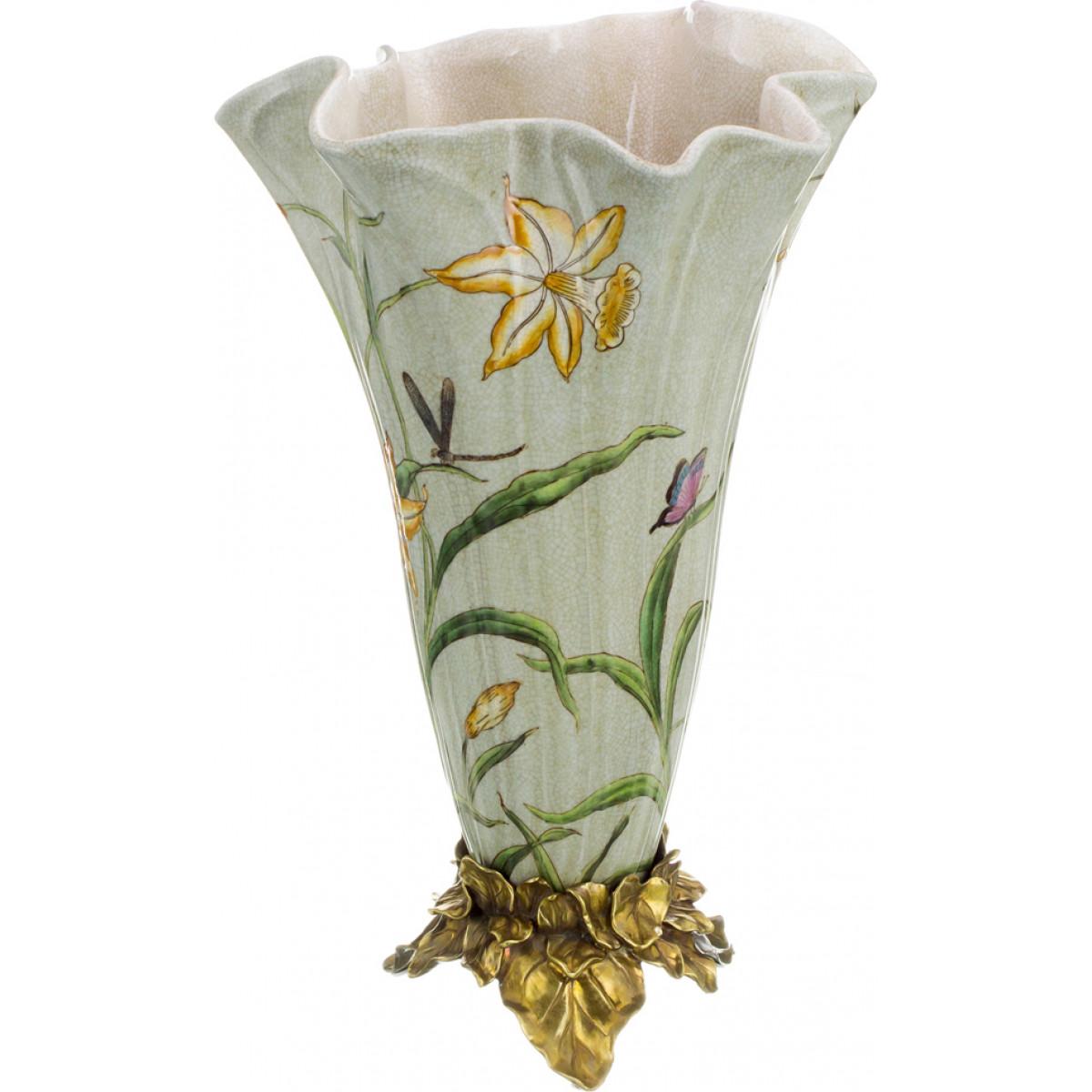 {} Lefard Ваза Aloysius (43 см) lefard ваза frozen 17х25 см