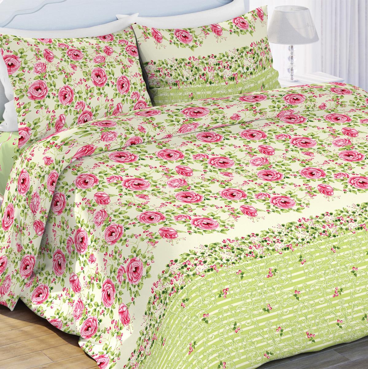 Постельное белье Любимый дом Постельное белье Шиповник (2 спал.) цена