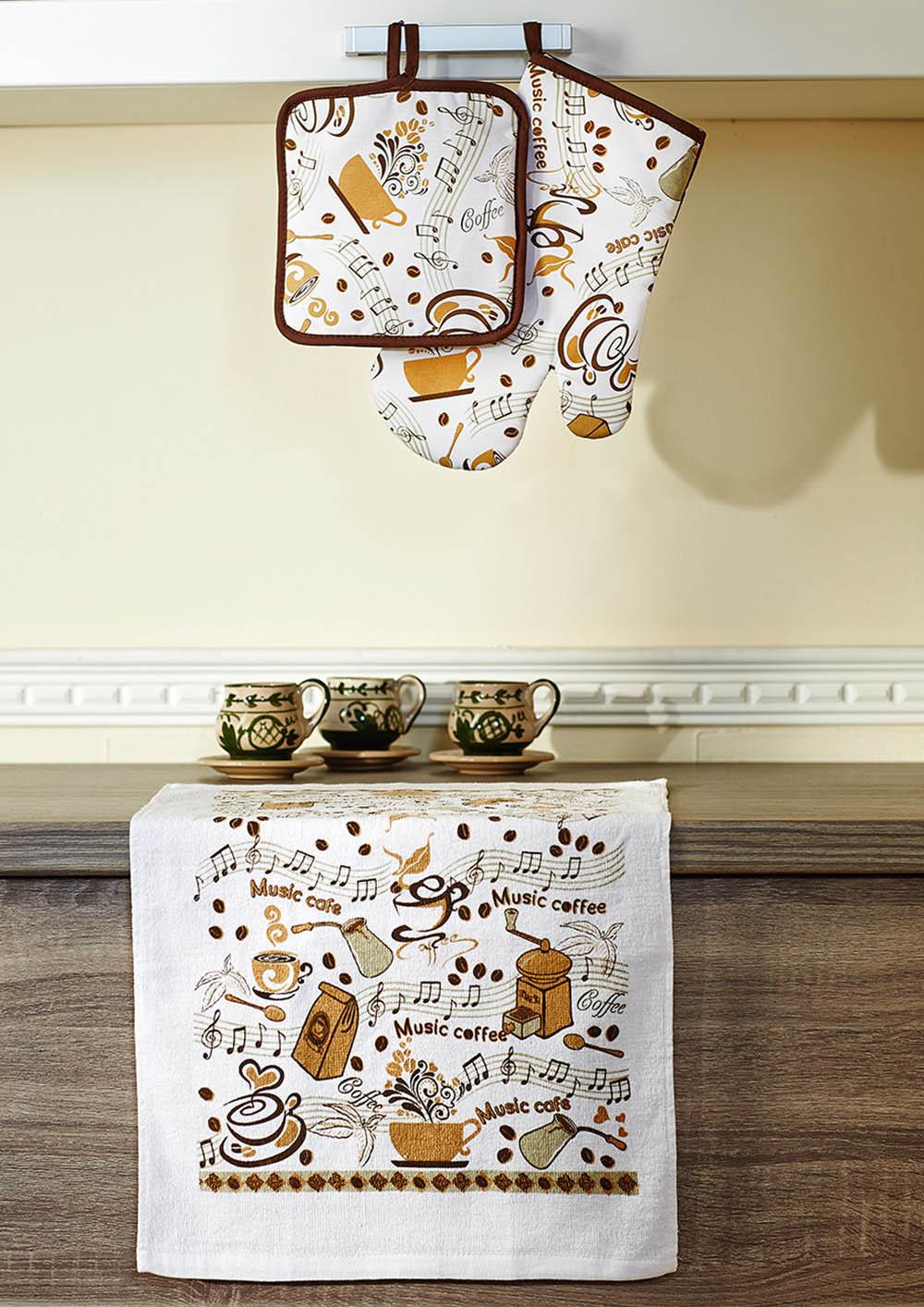 Рукавицы, прихватки, фартуки Primavelle Кухонный набор Claire прихватка primavelle 17 х 17 см
