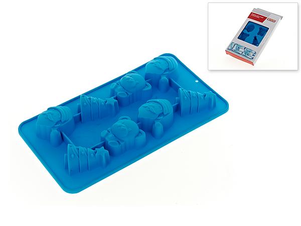 {} Best Home Kitchen Форма для льда и шоколада Новогодний Праздник (3х12х22 см) best home kitchen форма для льда и шоколада alleen 2х12х19 см