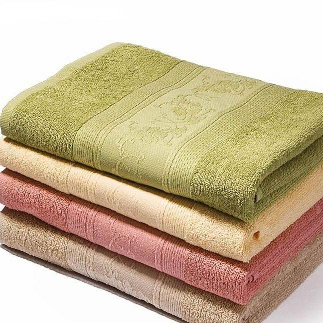 где купить Полотенца Soavita Полотенце Цветы Цвет: Зеленый (50х70 см) по лучшей цене