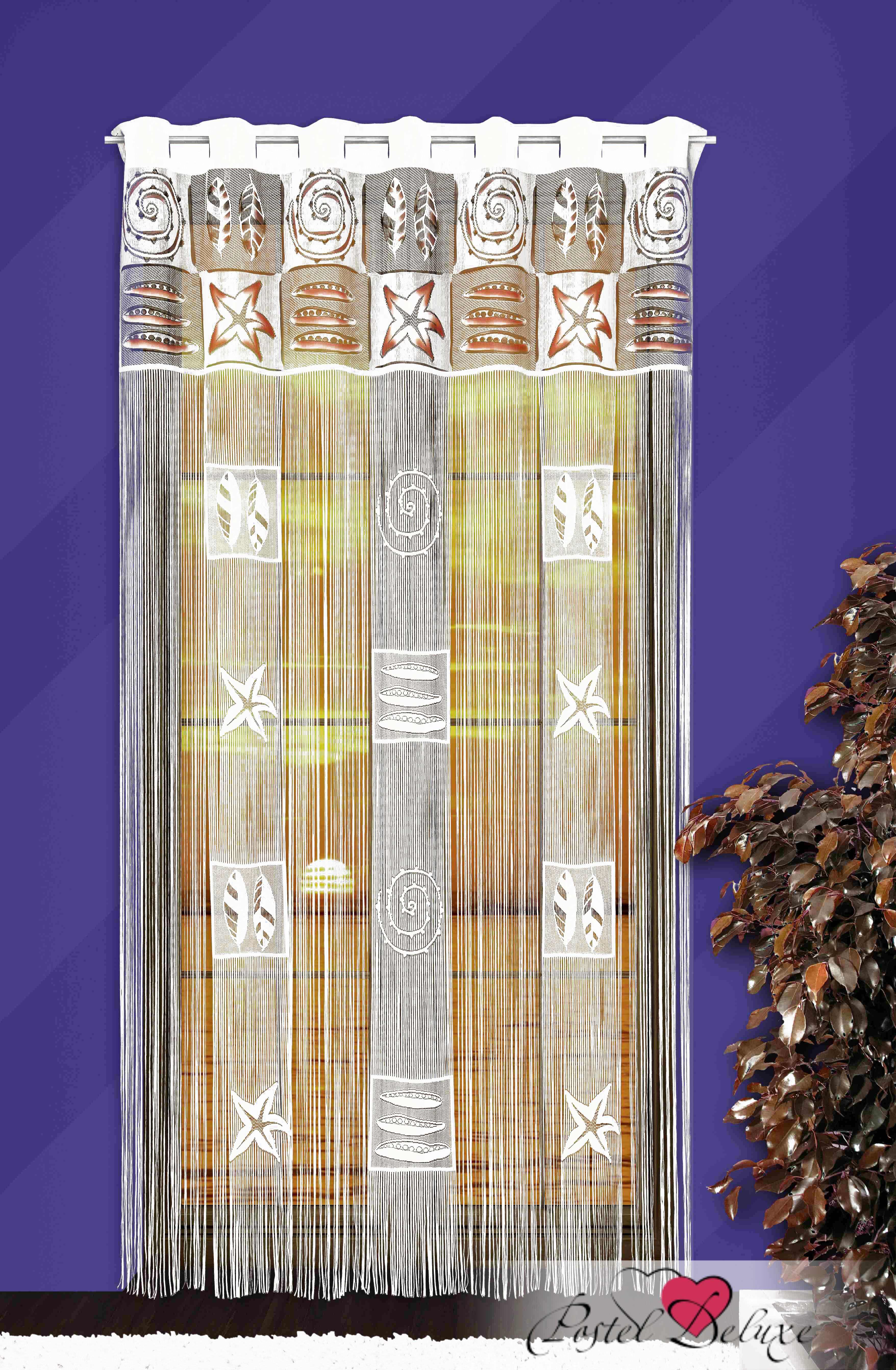 Шторы Wisan Нитяные шторы Цвет: Белый wisan wisan нитяные шторы lauraцвет белый