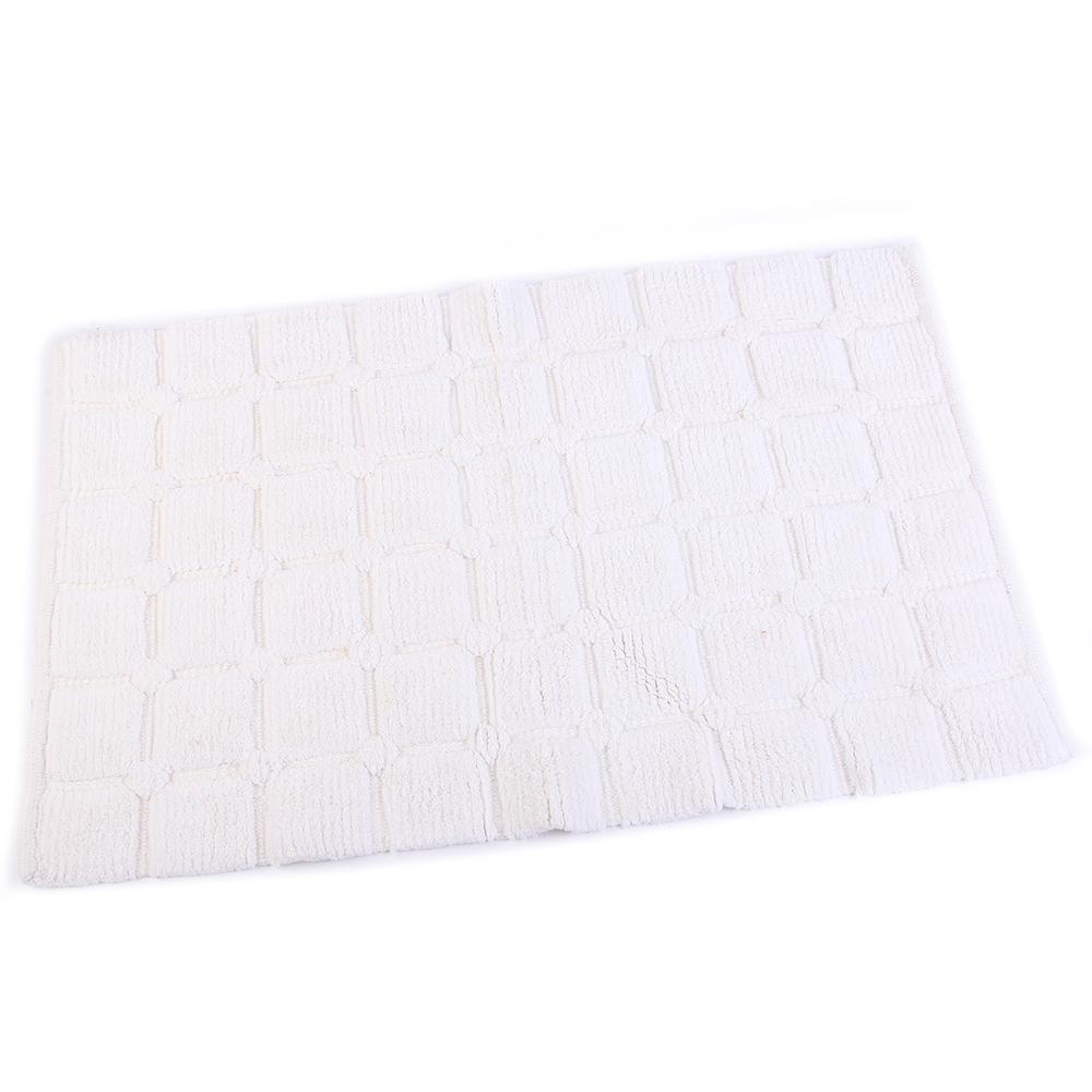 Аксессуары для ванной и туалета Arloni Коврик для ванной Zavanna Цвет: Белый (50х80 см) коврик для ванной арти м 50х80 см розанна